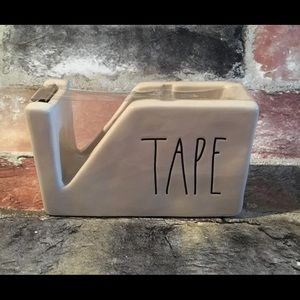 "New Rae Dunn Pottery ""TAPE"" Dispenser"